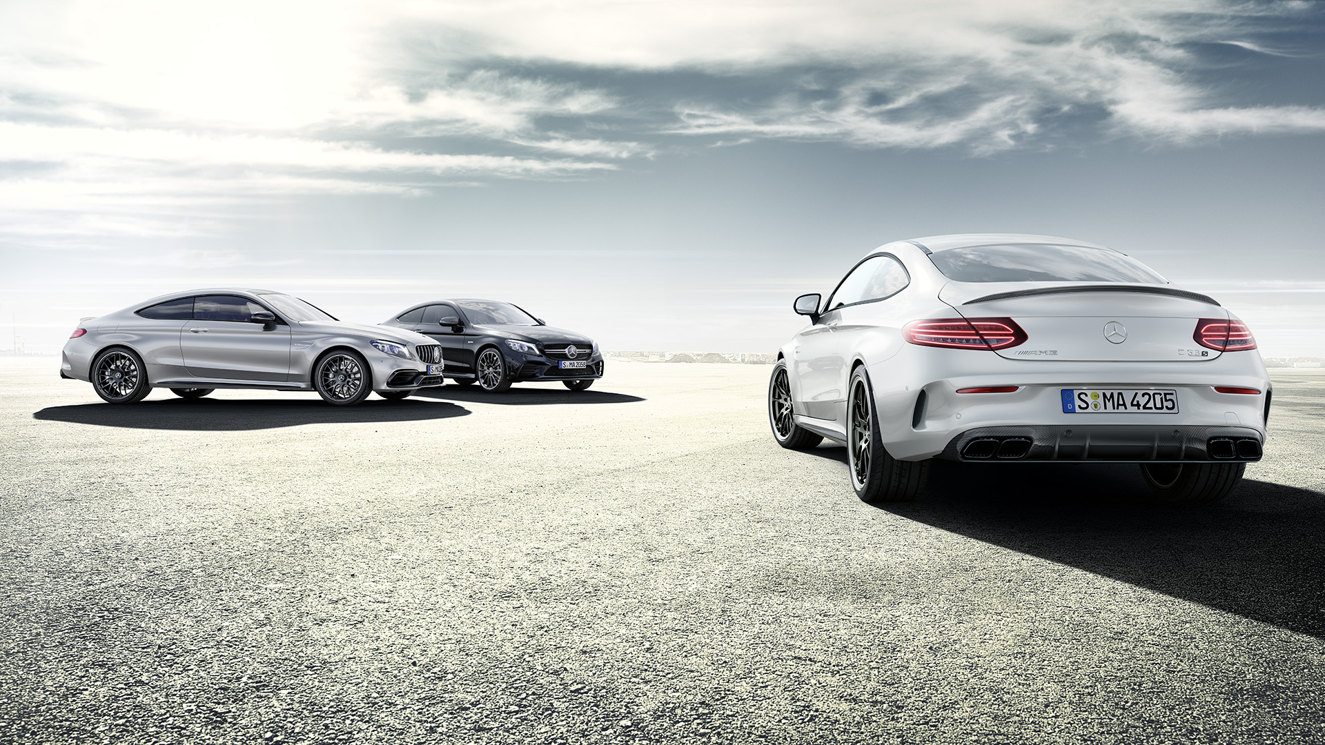 To The Mercedes Amg C Class Coupe