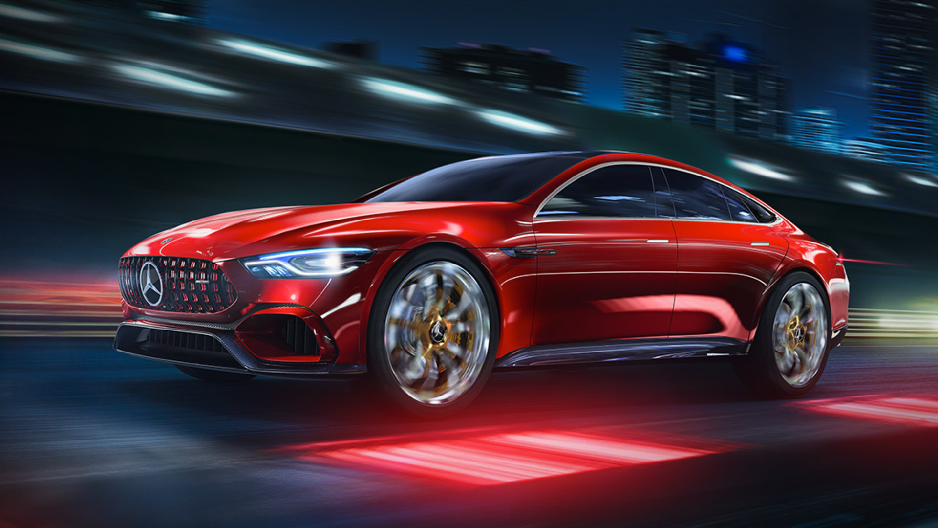The Mercedes Amg Gt Concept With Eq